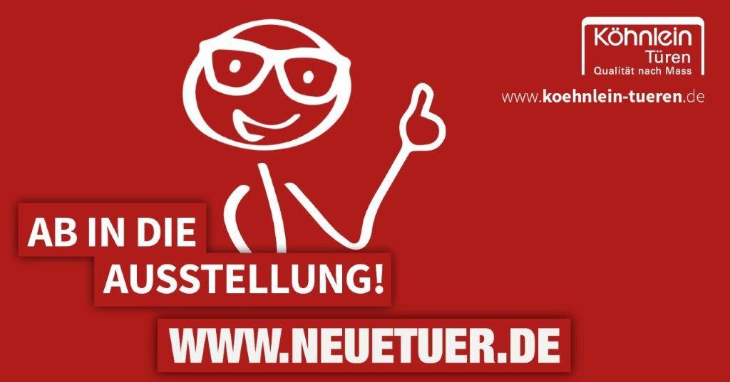Ab in die Ausstellung: neuetuer.de